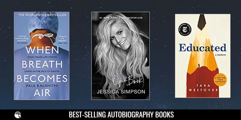 Best-selling Autobiography Books